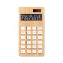 12-cyfrowy bambusowy kalkulator z nadrukiem logo - MO6216-40 - Agencja Point