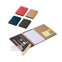 14-elementowy zestaw biurowy, notes, karteczki z nadrukiem logo - LT92519 - Agencja Point