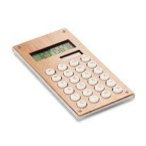 8-cyfrowy bambusowy kalkulator z nadrukiem logo - MO6215-40 - Agencja Point
