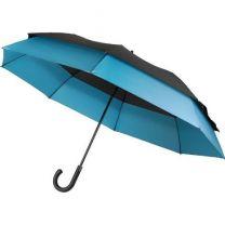 Automatyczny parasol reklamowy Ø 124 cm, z nadrukiem logo - V0672-11 - Agencja Point
