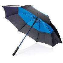 """Automatyczny parasol sztormowy 27"""", ochrona plecaka Ø 123 cm, z nadrukiem logo - P850.295 - Agencja Point"""
