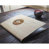 Bambusowa karta menu Ambiente z nadrukiem logo - 1178145 - Agencja Point