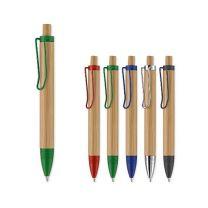 Bambusowy długopis z nadrukiem reklamowym - LT87552 - Agencja Point