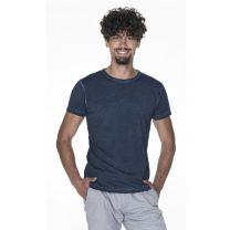 Barwiony T-shirt 180 g z nadrukiem logo - KOSZ-P15 - Agencja Point