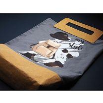 Bawełniana torba SHOPPER z nadrukiem reklamowym - 1435165 - Agencja Point