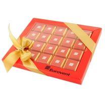 Bombonierka z logo - 20 czekoladek- Agencja Point