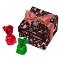 Cukierki w świątecznym opakowaniu z logo firmy - CUK-04.26 - Agencja Point