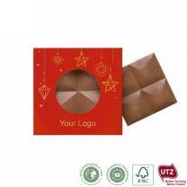 Czekolada piernikowa z logo firmy - CZEKO-0179 - Agencja Point