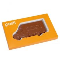 Czekoladowa wiadomość - czekoladowy telegram z logo - Agencja Point