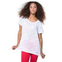 Damski T-shirt do sublimacji 120 g, z nadrukiem reklamowym - KOSZ-J25 - Agencja Point