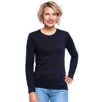 Damski T-shirt z długim rękawem 170 g z nadrukiem reklamowym - KOSZ-J21 - Agencja Point