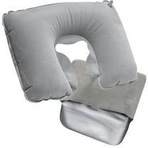 Dmuchana poduszka podróżna z nadrukiem logo - 63125 - Agencja Point