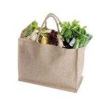 Jutowa torba reklamowa z logo, kolory - 67538-24 - Agencja Point