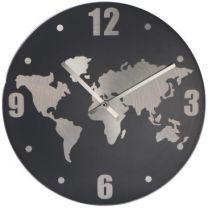 Bambusowy zegar reklamowy na biurko, radio z nadrukiem - V0367-16 - Agencja Point