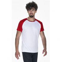 Dwukolorowa koszulka 130 g z nadrukiem reklamowym - KOSZ-P8 - Agencja Point