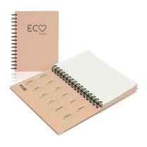 Ekologiczny, reklamowy notes na spirali z logo - PM300_A5-ECO - Agencja Point