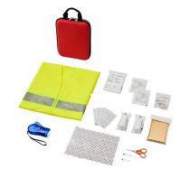 Handies - reklamowy zestaw pierwszej pomocy, kamizelka, 46 el. z logo - 12601200 - Agencja Point