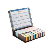 Highschool - karteczki samoprzylepne, zestaw z kalendarzem, z nadrukiem logo - AP809320 - Agencja Point