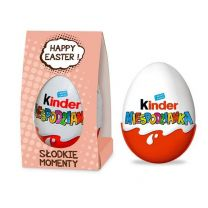 Jajko Kinder Niespodzianka w opakowaniu reklamowym z logo - CZEK14 - Agencja Point