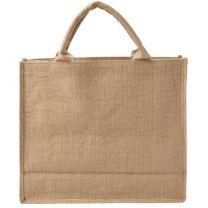 Duża reklamowa torba z juty - V0402-16 - Agencja Point
