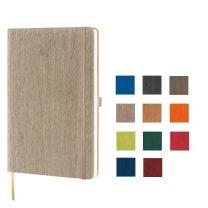 Kalendarz książkowy z gumką, z logo firmy, różne rodzaje bloku - KAL-LED-03 - Agencja Point