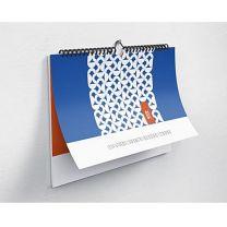 Kalendarz ścienny spiralowany, z nadrukiem reklamowym - KAL-DRUK-06 - Agencja Point
