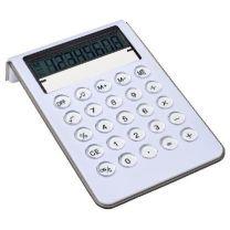 Kalkulator reklamowy z zegarem i kalendarzem - V3817-02 - Agencja Point