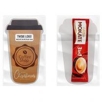 Kawa rozpuszczalna 3 w 1 w saszetce z nadrukiem logo - KAW1 - Agencja Point