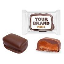 Krówki w czekoladzie w opakowaniu reklamowym z logo - CUK-01.27 - Agencja Point