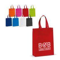 Laminowana, średnia torba reklamowa non-woven z logo - LT91723 - Agencja Point