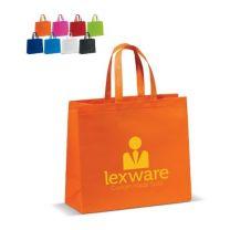 Laminowana torba reklamowa non-woven z logo - LT95111 - Agencja Point