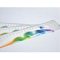 Linijka - zakładka reklamowa z PVC z nadrukiem full color - LIN022 - Agencja Point