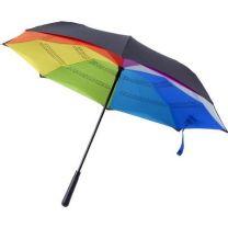 Wiatroodporny, reklamowy parasol automatyczny Ø110 cm, z logo - V0789-11 - Agencja Point