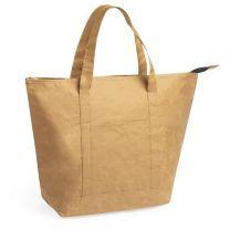 Papierowa torba termoizolacyjna z logo - V8186-00 - Agencja Point