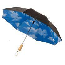"""Parasol automatyczny Blue-skies z nadrukiem logo, 21"""", Ø95 cm - 10909300 - Agencja Point"""