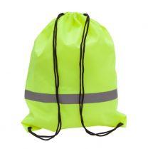 Plecak promocyjny z taśmą odblaskową, żółty R08696.03 - Agencja Point