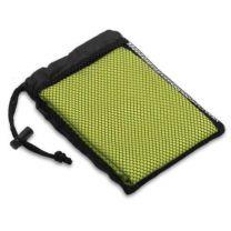 Ręcznik sportowy w pokrowcu z nadrukiem logo - R07980 - Agencja Point