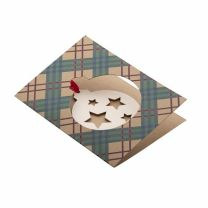 Reklamowa karta świąteczna TreeCard Eco, choinka - AP718645-C - Agencja Point
