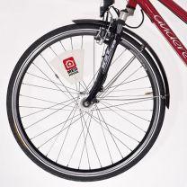 CreaRide RPET - pokrowiec na siodełko z nadrukiem logo - AP718698 - Agencja Point