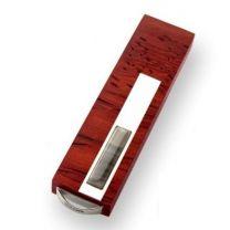 Pamięć USB z krzemieniem pasiastym i srebrem - AMBER3 - Agencja Point