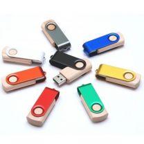 Pamięć USB TWISTER drewno - C27w - Agencja Point