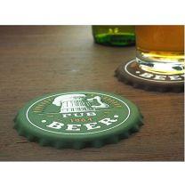 Reklamowa podkładka pod piwo z logo - 1274156 - Agencja Point