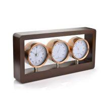 Reklamowy zegar ścienny TECHNO z logo - 03068 - Agencja Point