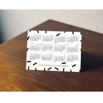 Reklamowy kalendarzyk listkowy z nadrukiem - KAL-DRU-01 - Agencja Point