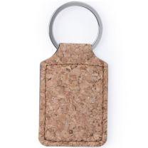Korkowy brelok do kluczy - V0738-18 - Agencja Point