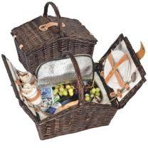 Reklamowy kosz piknikowy z wikliny - 6233701 - Agencja Point