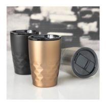 Reklamowy kubek Geo 350 ml z izolacją próżniowo miedzianą - 1004550 - Agencja Point