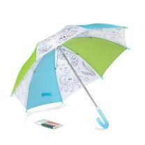 Reklamowy parasol KIDDI do kolorowania, pisaki - 37050 - Agencja Point