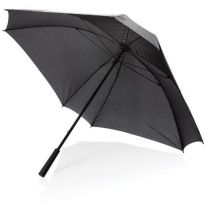 """Wiatroodporny parasol manualny XL, 27"""", Ø102 cm, z logo - P850.351 - Agencja Point"""