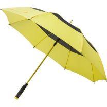 Reklamowy parasol manualny Ø122 cm, wiatroodporny, z logo - V0804-08 - Agencja Point
